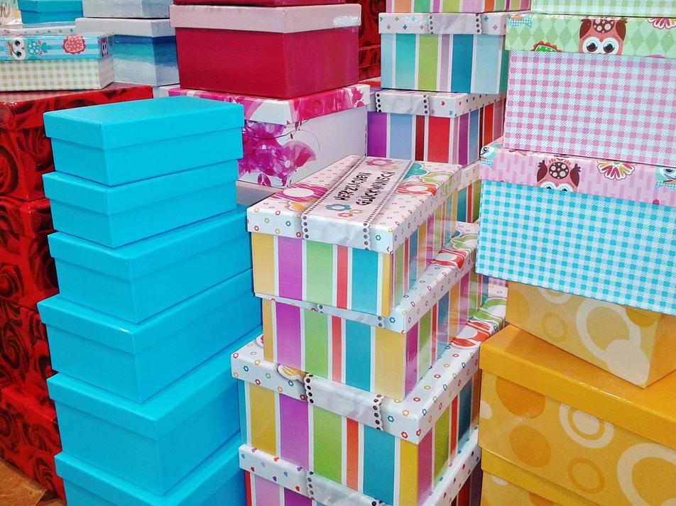 Geschenkschachtel mit Sichtfenster | Geschenkboxen | Kartonagen | Europack24 - Verpackungen